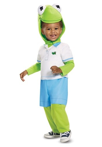 Click Here to buy Kermit the Frog Babys Costume from HalloweenCostumes, CDN Funds & Shipping