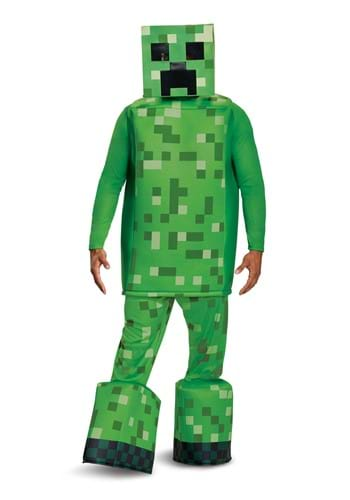 Minecraft Adult Creeper Prestige Costume