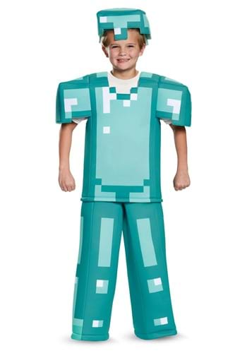 Prestige Minecraft Armor Costume for Kids