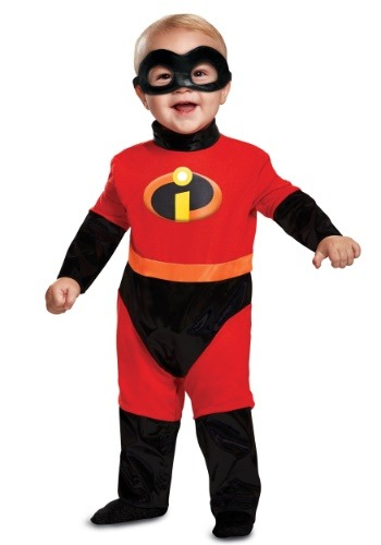 Click Here to buy Disney Incredibles 2 Classic Costume for Babies from HalloweenCostumes, CDN Funds & Shipping