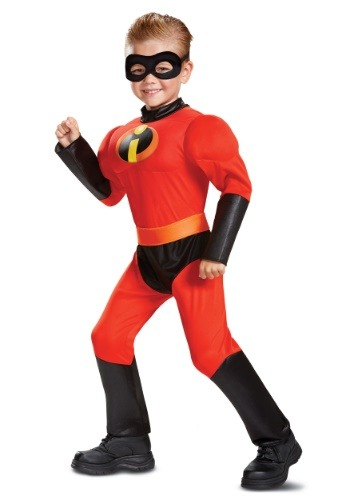 Disney Incredibles 2 Classic Dash Muscle Toddler Costume
