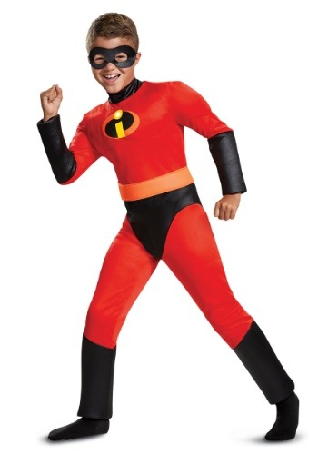 Click Here to buy Disney Incredibles 2 Classic Dash Muscle Boys Costume from HalloweenCostumes, CDN Funds & Shipping