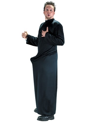 Click Here to buy Keep Up the Faith Priest Costume from HalloweenCostumes, CDN Funds & Shipping
