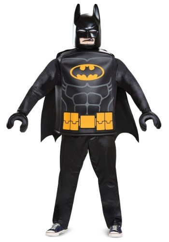 Click Here to buy Lego Batman Adult Deluxe Batman Costume from HalloweenCostumes, CDN Funds & Shipping