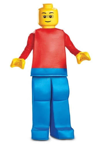 Boys Lego Prestige Lego Guy Costume