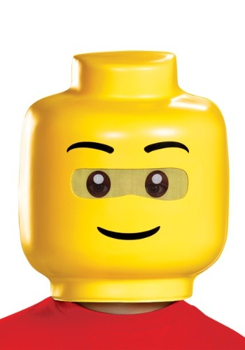 Click Here to buy LEGO Mask for Kids from HalloweenCostumes, CDN Funds & Shipping