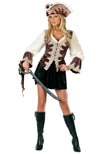 Ladies Royal Pirate Costume