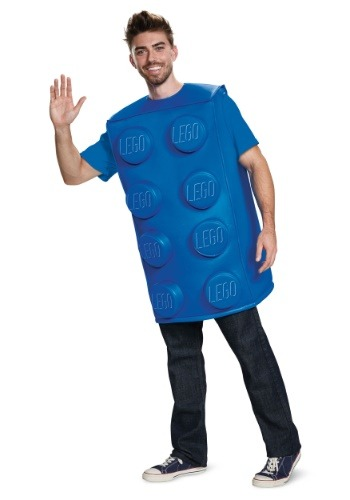 LEGO Blue Brick Costume for Adults