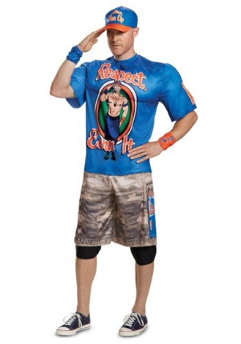 WWE John Cena Muscle Men's Costume