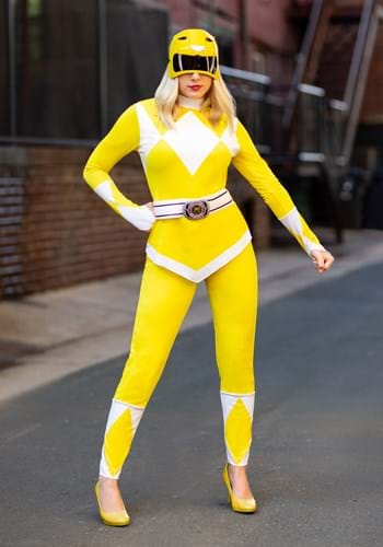 Womens Power Ranger Yellow Ranger Costume
