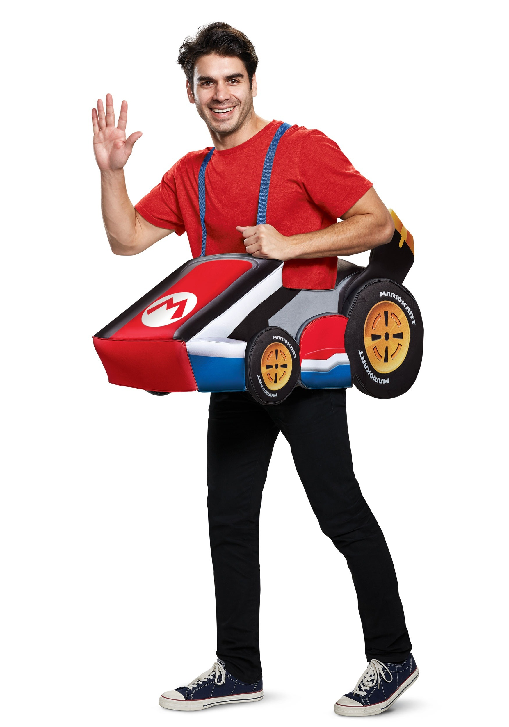 super mario kart mario ride in costume for adults