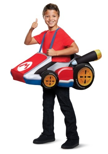 Click Here to buy Kids Super Mario Kart Mario Ride In from HalloweenCostumes, CDN Funds & Shipping