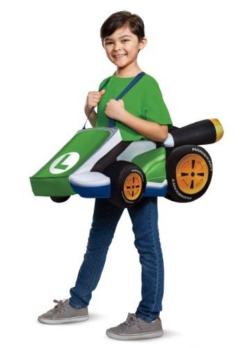 Mario Kart Child Luigi Ride In
