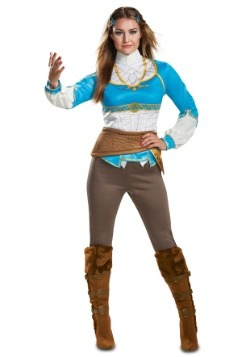 Adult Breath of the Wild Zelda Costume