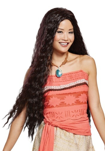 Click Here to buy Disney Moana Wig for Women from HalloweenCostumes, CDN Funds & Shipping