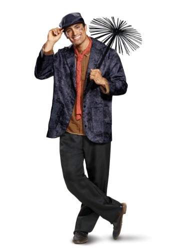 Click Here to buy Adult Deluxe Bert Costume from Mary Poppins from HalloweenCostumes, CDN Funds & Shipping