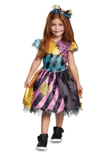 Click Here to buy Nightmare Before Christmas Classic Sally Costume for Babies from HalloweenCostumes, CDN Funds & Shipping