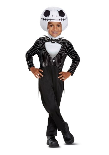 Childs Nightmare Before Christmas Classic Jack Skellington Costume
