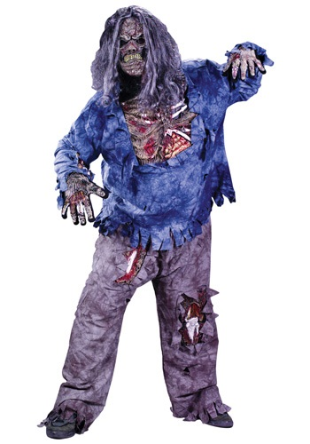 Click Here to buy Plus Size Zombie Costume from HalloweenCostumes, CDN Funds