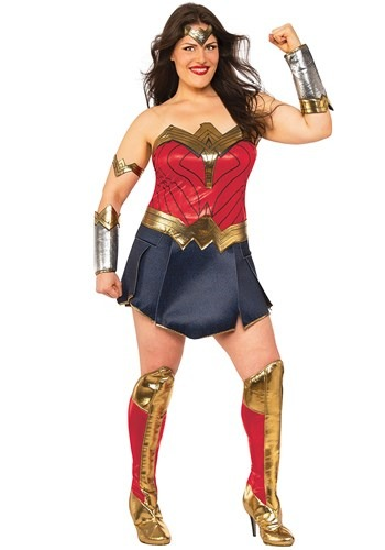 Womens Wonder Woman Plus Size Costume