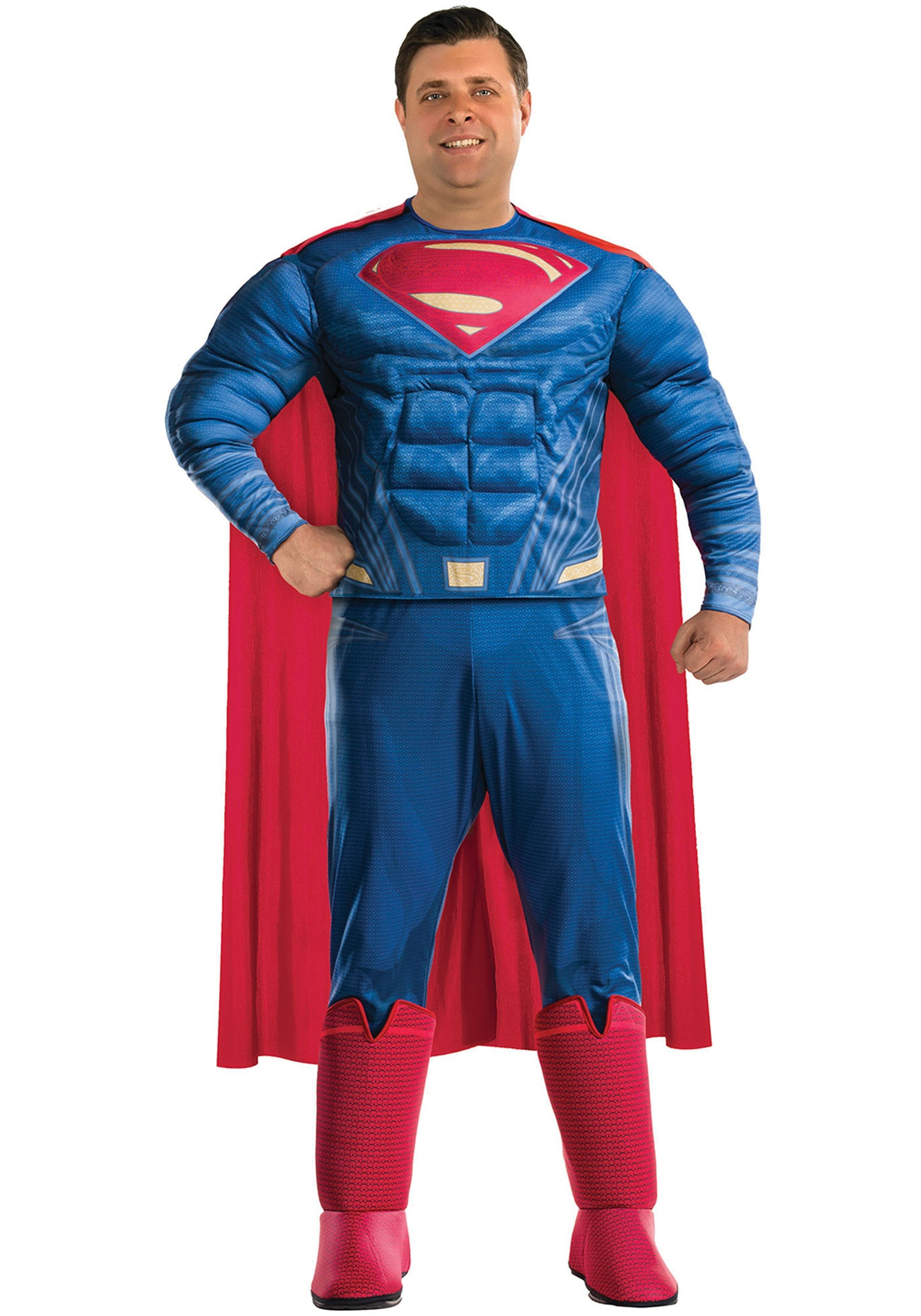 Plus Size Superman Adult Costume