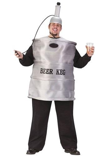 Plus Size Beer Keg Costume