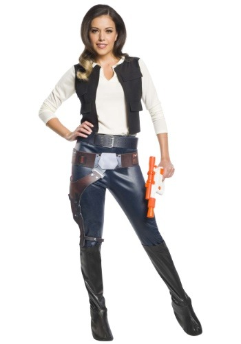 Click Here to buy Womens Han Solo Costume Star Wars Character from HalloweenCostumes, CDN Funds & Shipping