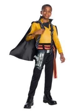 Solo Star Wars Story Lando Calrissian Child Costume