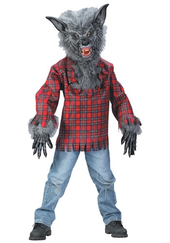 Click Here to buy Kids Werewolf Costume from HalloweenCostumes, CDN Funds & Shipping