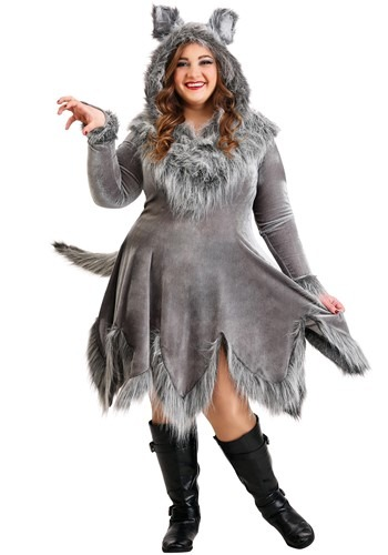 Wolf Costume Womens Plus Size | Animal Costumes For Adults