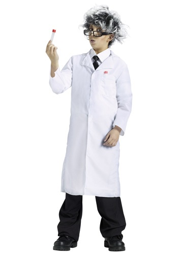 Click Here to buy Kids Lab Coat Costume from HalloweenCostumes, CDN Funds
