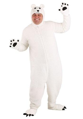 Plus Size Arctic Polar Bear Costume