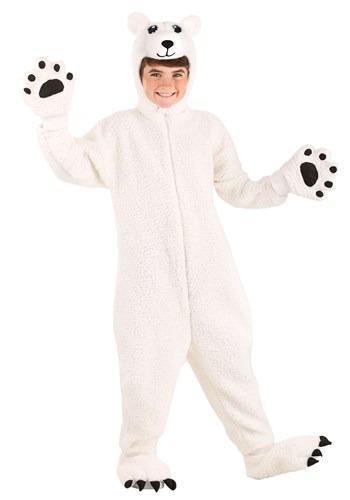Arctic Polar Bear Costume for Kids