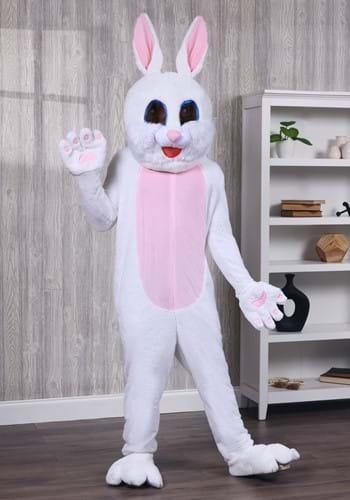 Adult Easter Bunny Mascot Costume