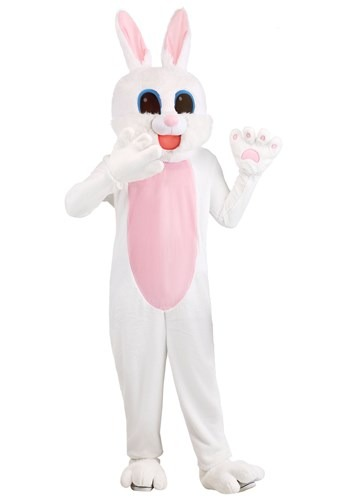 Mascot Easter Bunny Costume for Adults