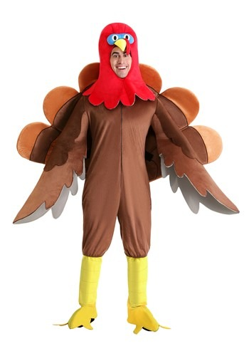 Adults Wild Turkey Costume | Thanksgiving Costume
