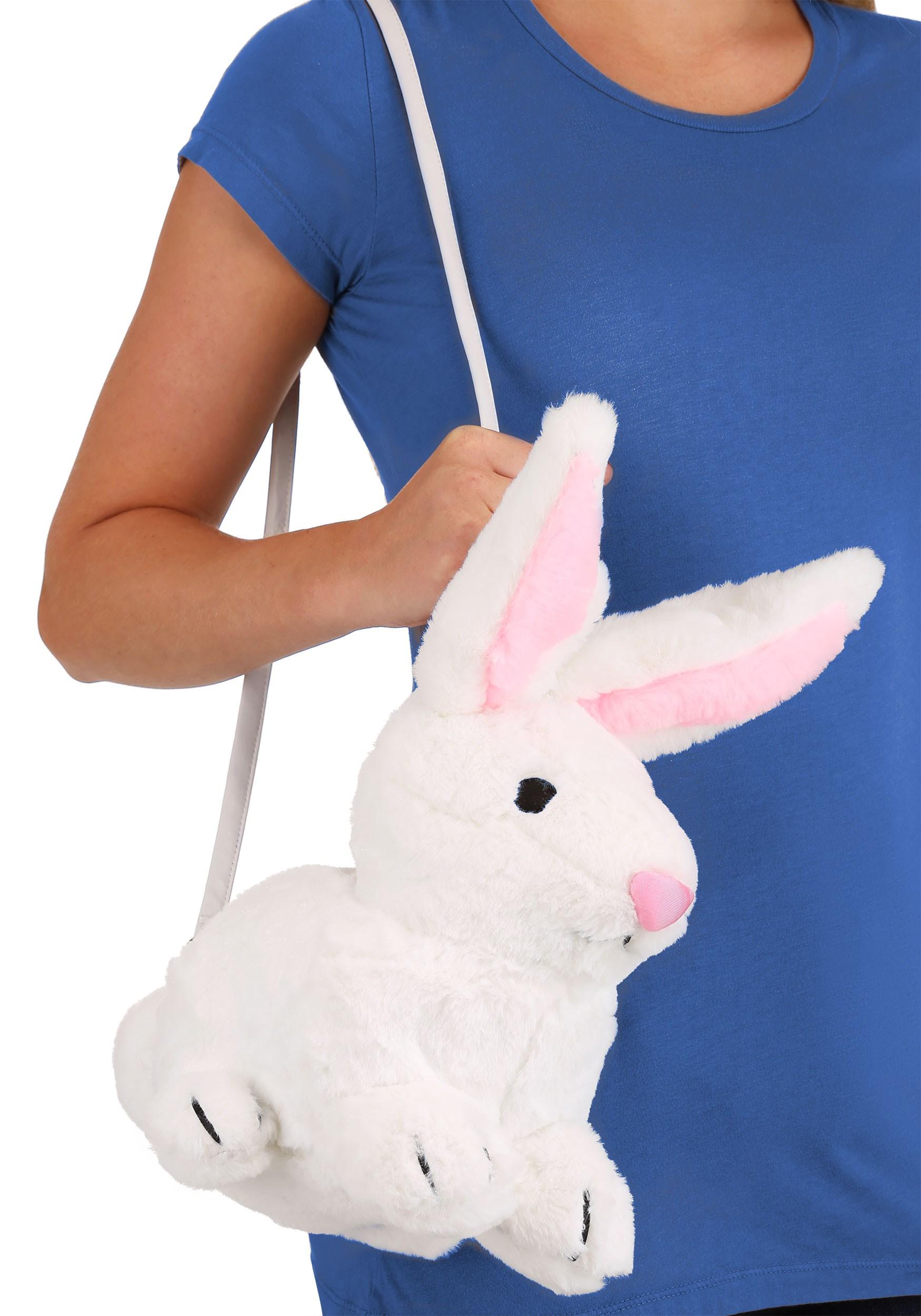 White Bunny Purse Accessory (FUN7060-ST FUN7060) photo