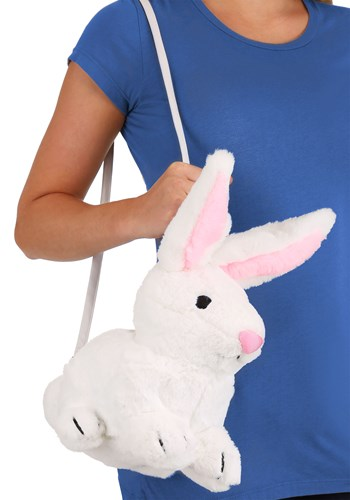 Click Here to buy White Bunny Purse Accessory from HalloweenCostumes, CDN Funds & Shipping
