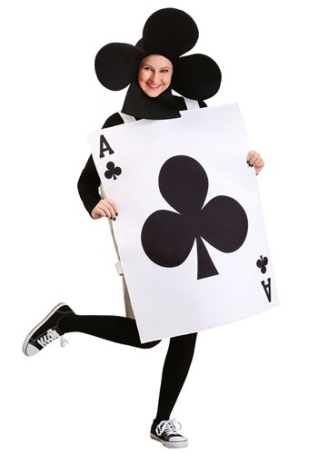 Ace of Clubs Adult Size Costume