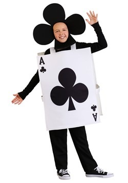 Ace of Clubs Kids Costume