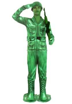 Adult Plastic Army Man Costume