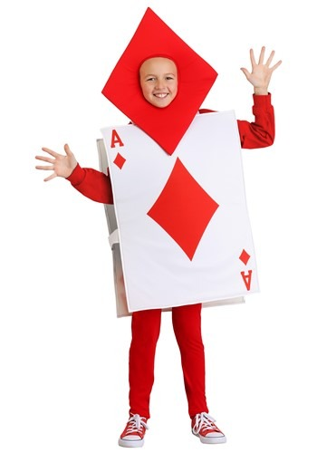 Click Here to buy Ace of Diamonds Kids Costume from HalloweenCostumes, CDN Funds & Shipping