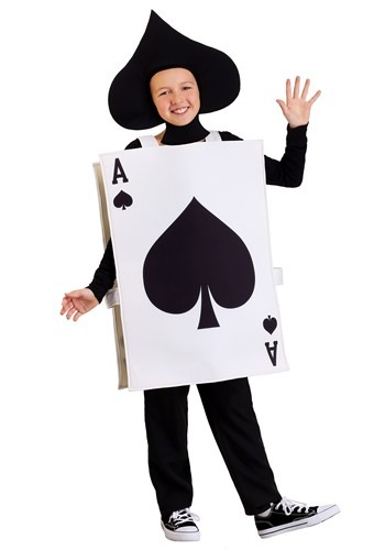 Click Here to buy Ace of Spades Kids Costume from HalloweenCostumes, CDN Funds & Shipping