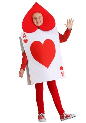 Click Here to buy Ace of Hearts Kids Costume from HalloweenCostumes, CDN Funds & Shipping