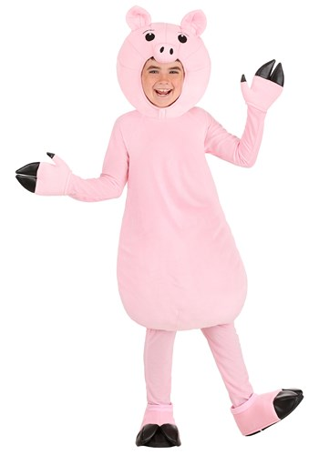 Pink Pig Costume for Kids