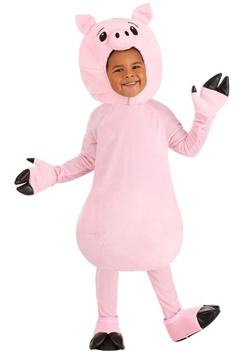 Toddler Pink Pig Costume