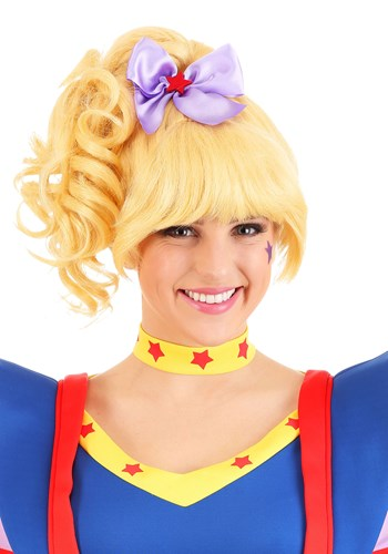 Click Here to buy Rainbow Brite Womens Wig from HalloweenCostumes, CDN Funds & Shipping