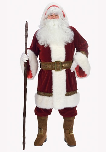 Click Here to buy Deluxe Old Time Santa Costume from HalloweenCostumes, CDN Funds & Shipping