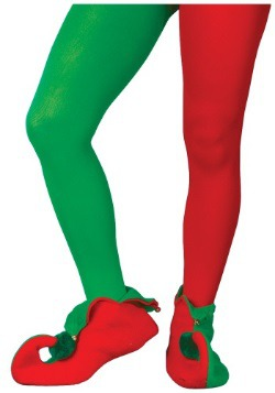 Red and Green Elf Tights
