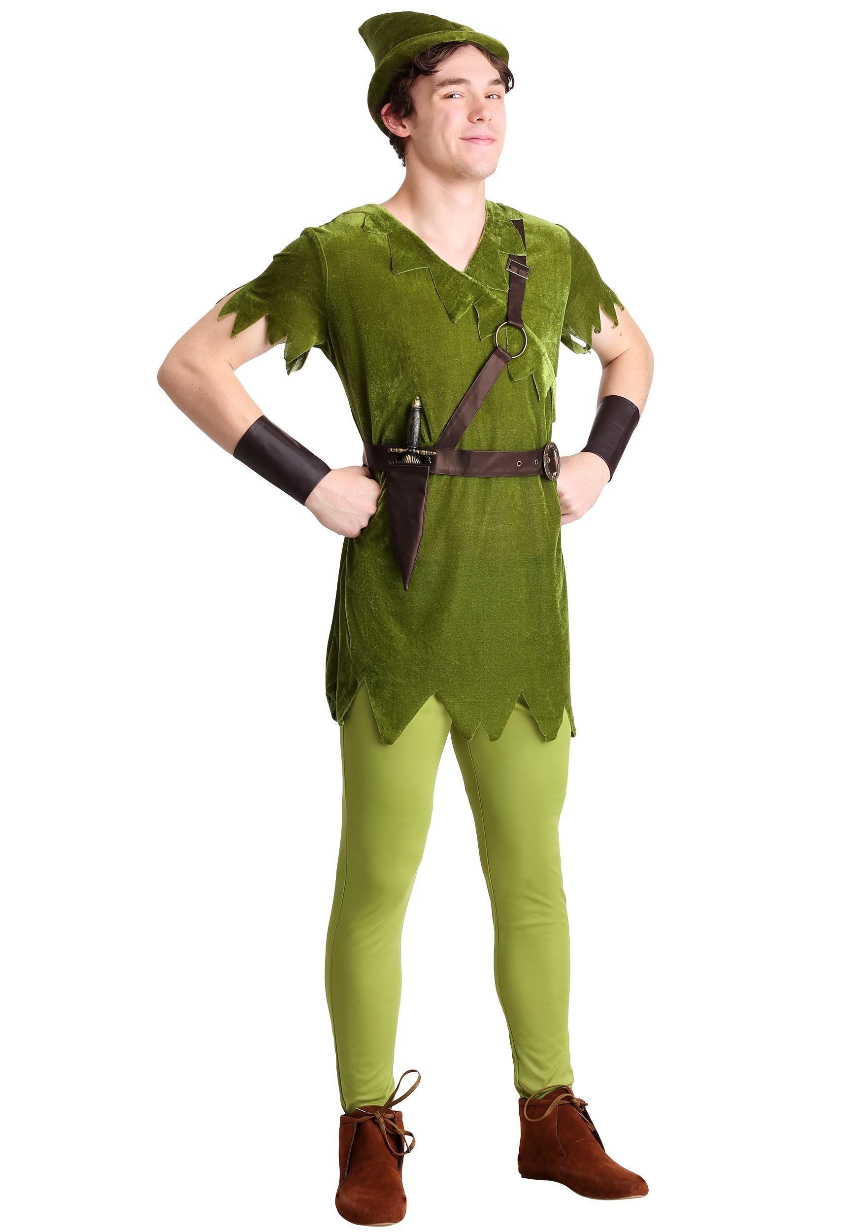 Classic Peter Pan Adult Costume